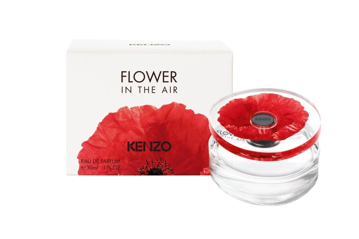 Fedele ai codici di Flower by Kenzo, nella nuova fragranza Kenzo Flower in the Air centrale resta il tema della rosa