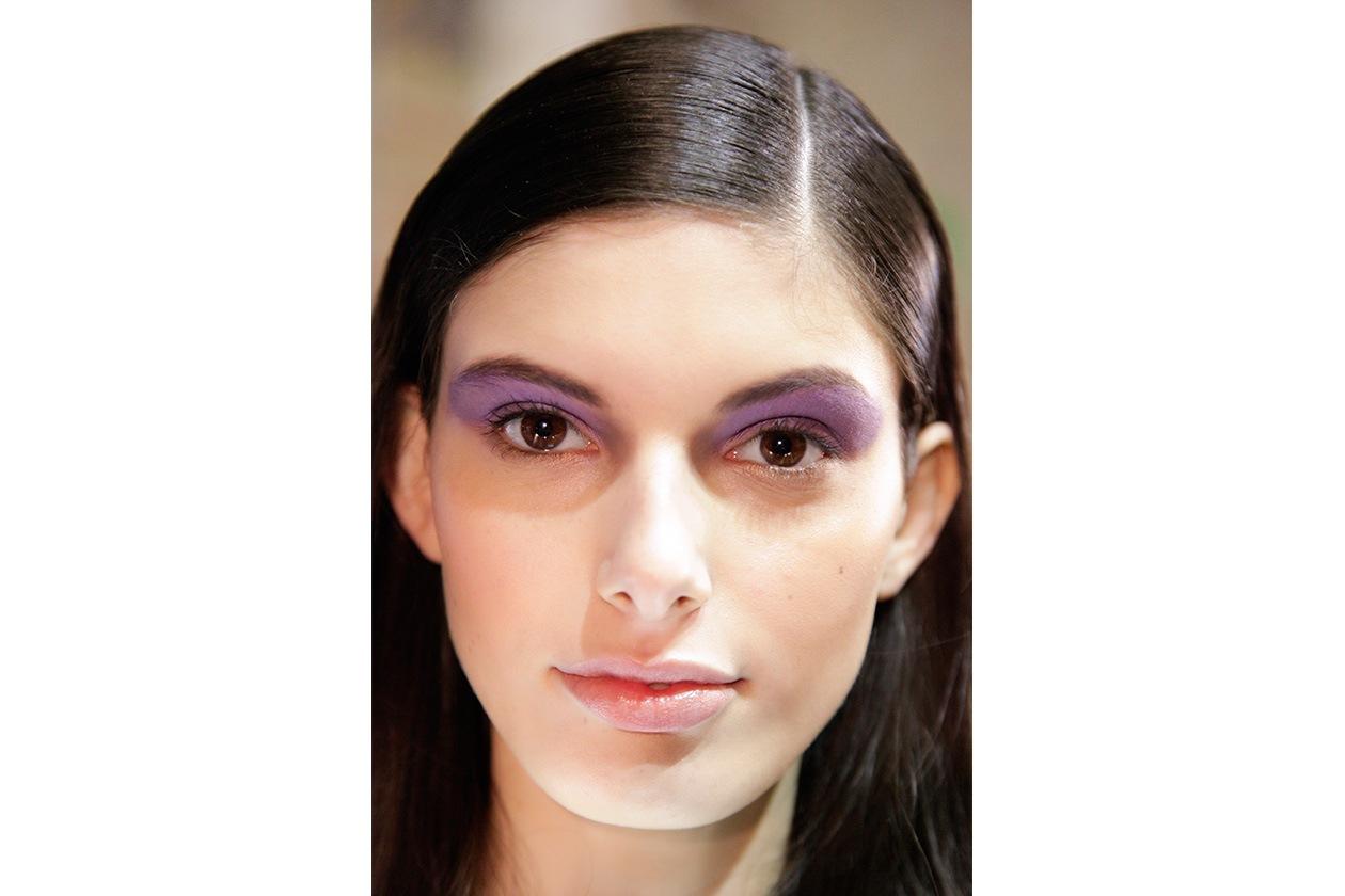 Full color sulle palpebre della modella di Massimo Rebecchi