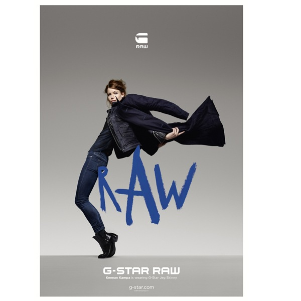G-Star Denim: la nuova campagna Art of Raw