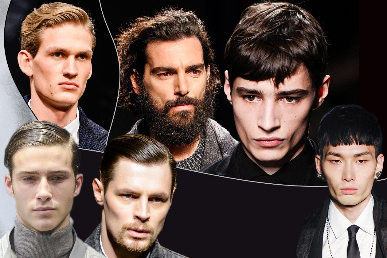 Il capello dell'uomo per questa stagione è caratterizzato da estrema cura nei dettagli. Tutte le tendenze di questo autunno dalle sfilate A/I 2013-14