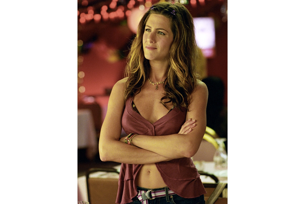 """Jennifer Aniston sul set di """"E alla fine arriva Polly"""""""