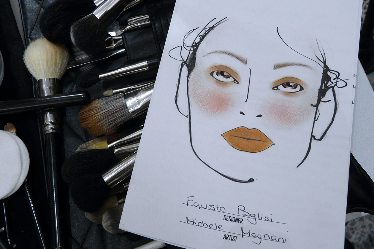 La Face Chart firmata da Michele Magnani, senior make up artist di MAC Cosmetics
