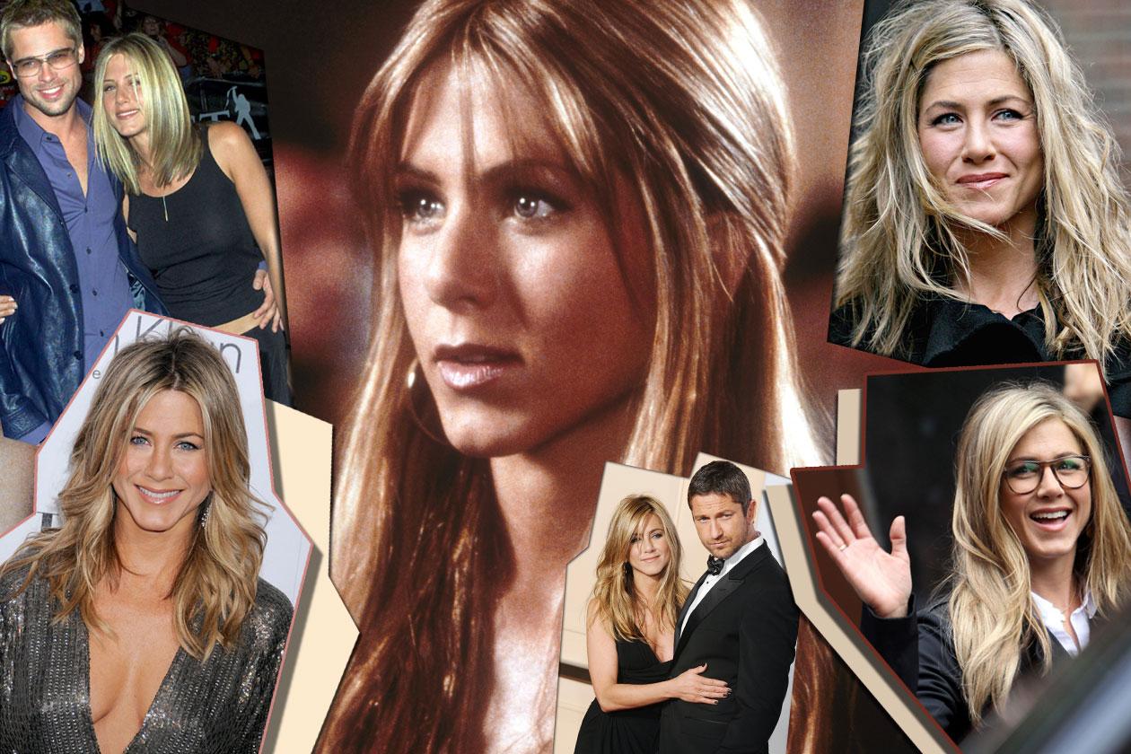 Lisci e con la riga centrale: è questo il taglio preferito da Jennifer Aniston che in passato ne ha fatte di tutti i colori