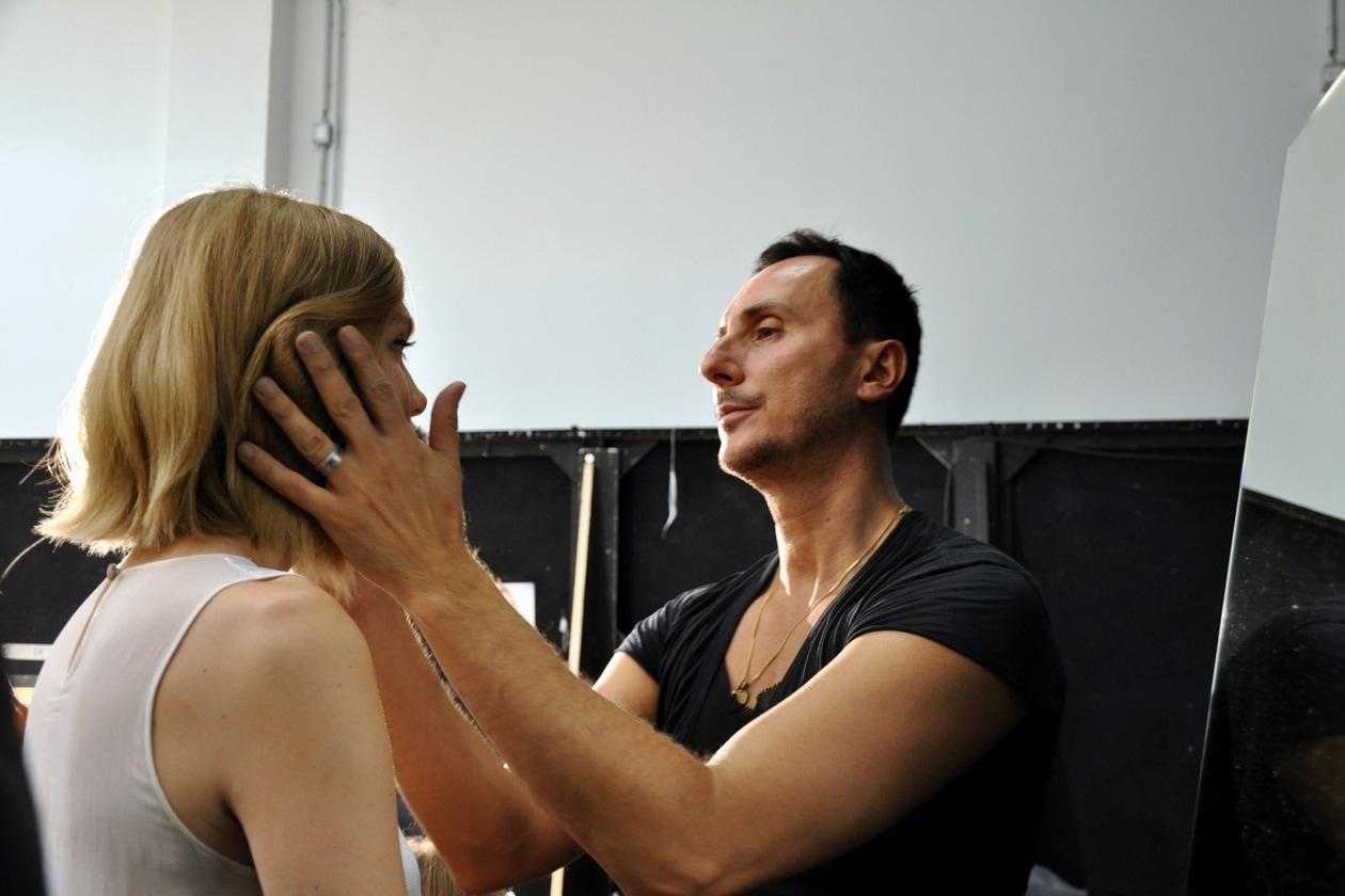 Luigi Murenu ha curato l'hair styling delle modelle di N.21