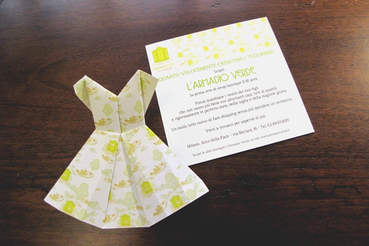 Origami come biglietto da visita