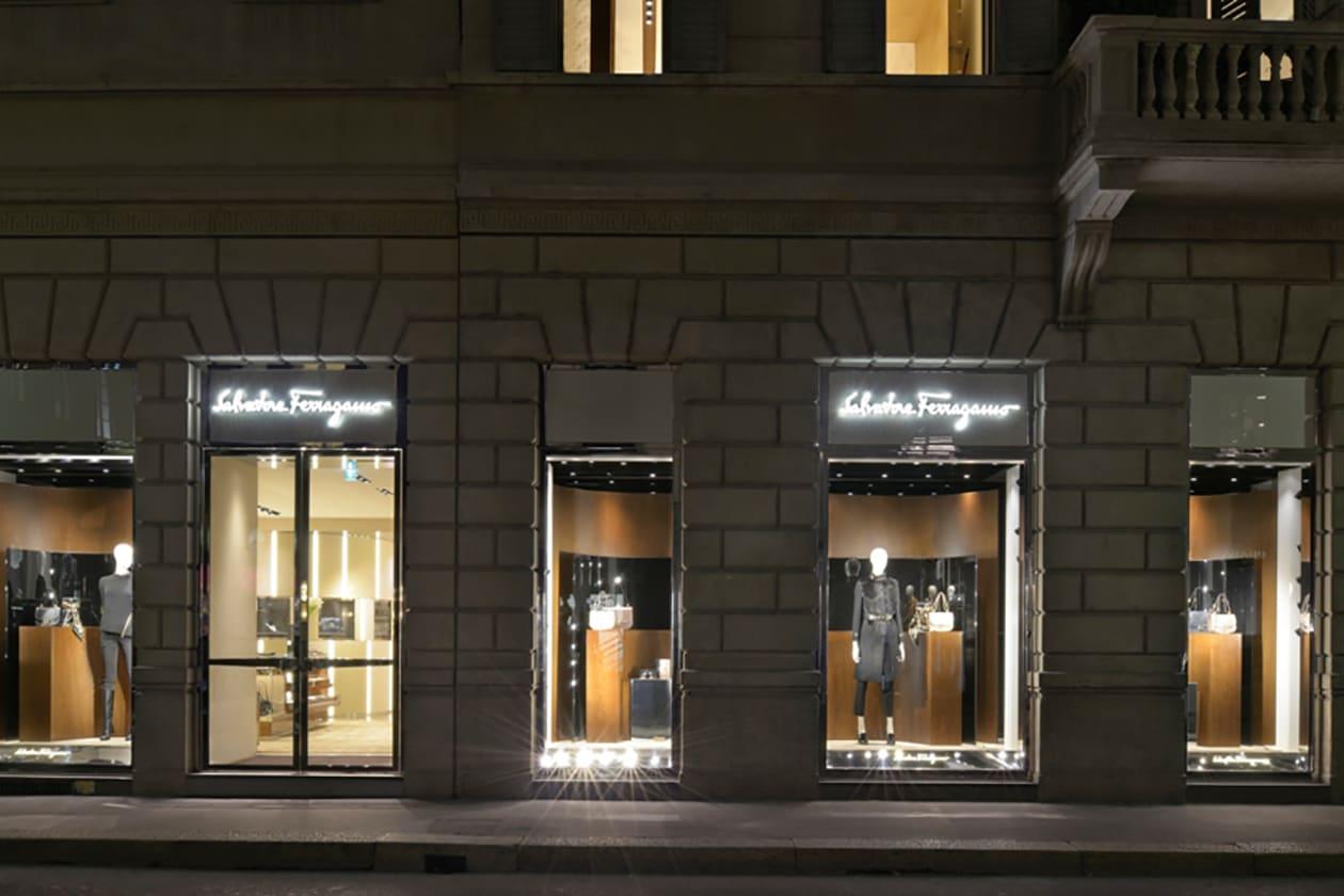 Salvatore Ferragamo Boutique Donna Milano