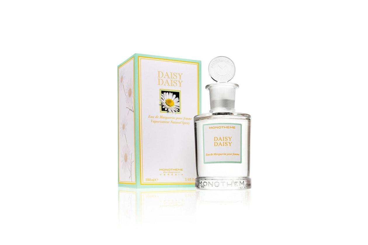 Top fruttato mixato a freschi tocchi verdi per DaisyDaisy di MONOTHEME fine fragrances