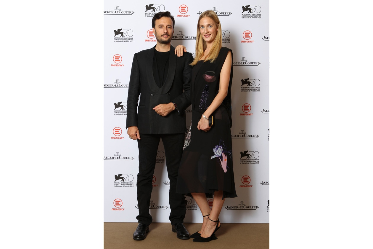 Venice Film Festival 2013 Matteo Ceccarini and Eva Riccobono at the party Jaeger LeCoultre for Emergency It's time to help Sierra Leone ph. pessina
