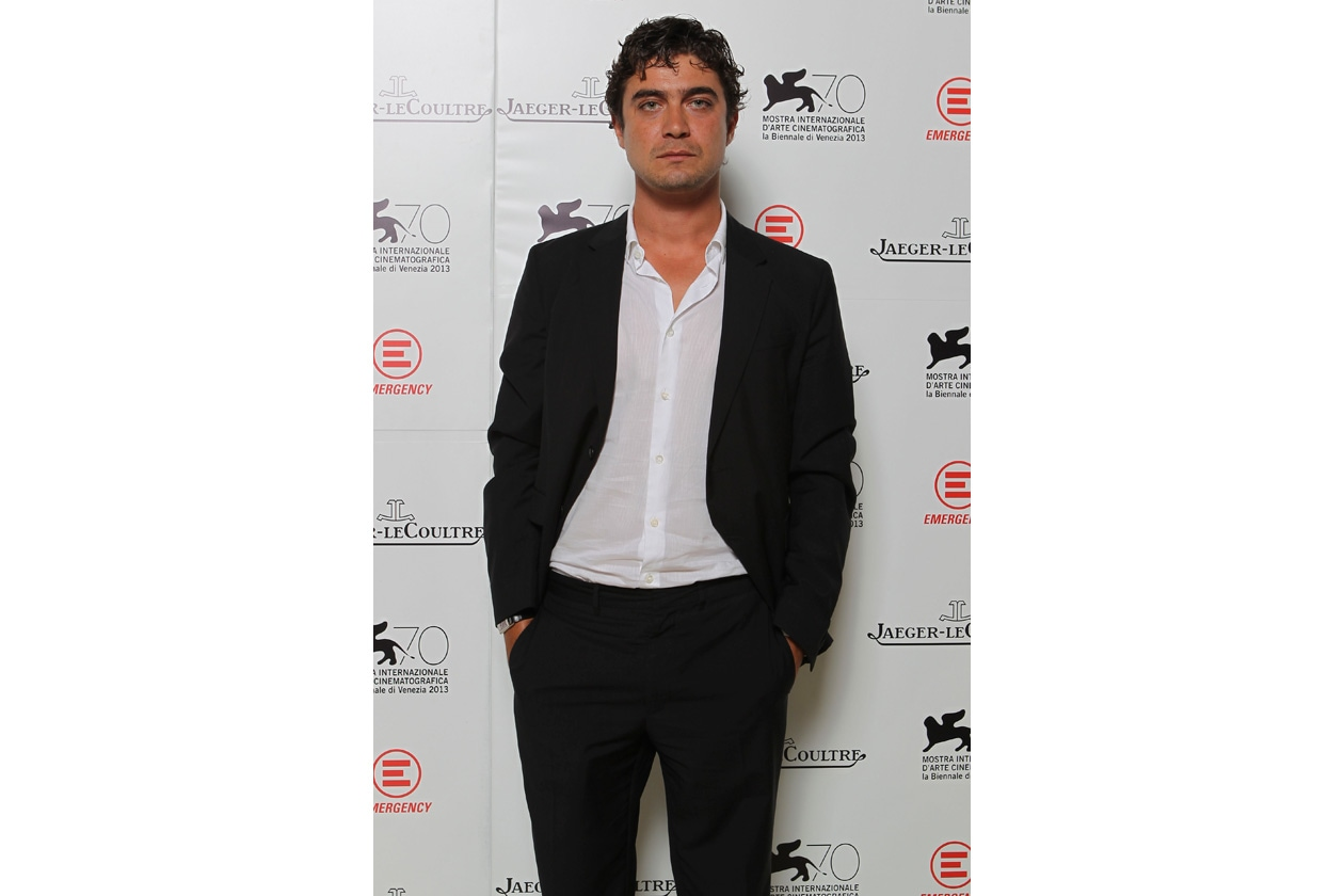 Venice Film Festival 2013 Riccardo Scamarcio at party Jaeger LeCoultre for Emergency It's time to help Sierra Leone ph. pessina