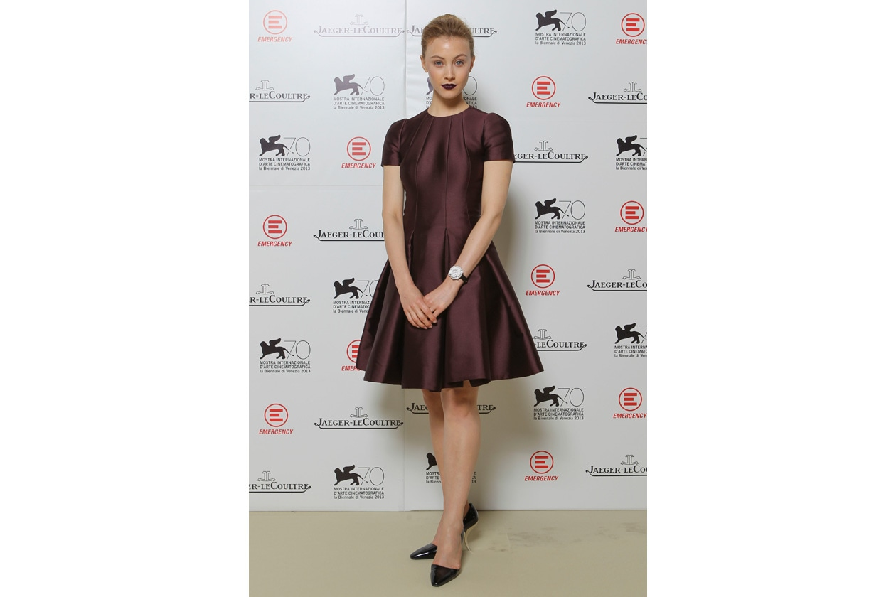 Venice Film Festival 2013 Sarah Gadon at party Jaeger LeCoultre for Emergency It's time to help Sierra Leone ph. pessina