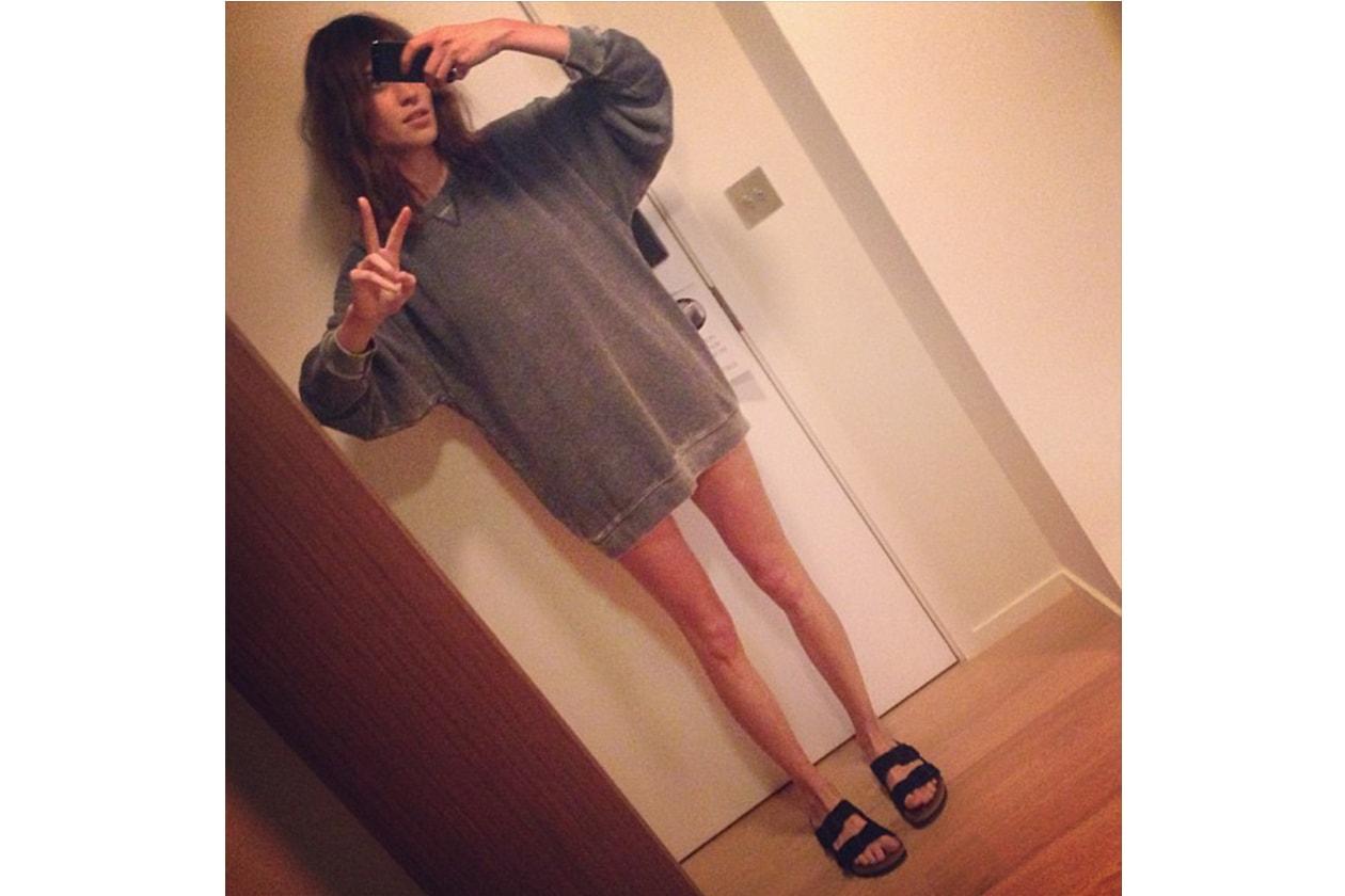 Alexa Chung: «Happy Fashion week guys (Buona Fashion Week a tutti)»