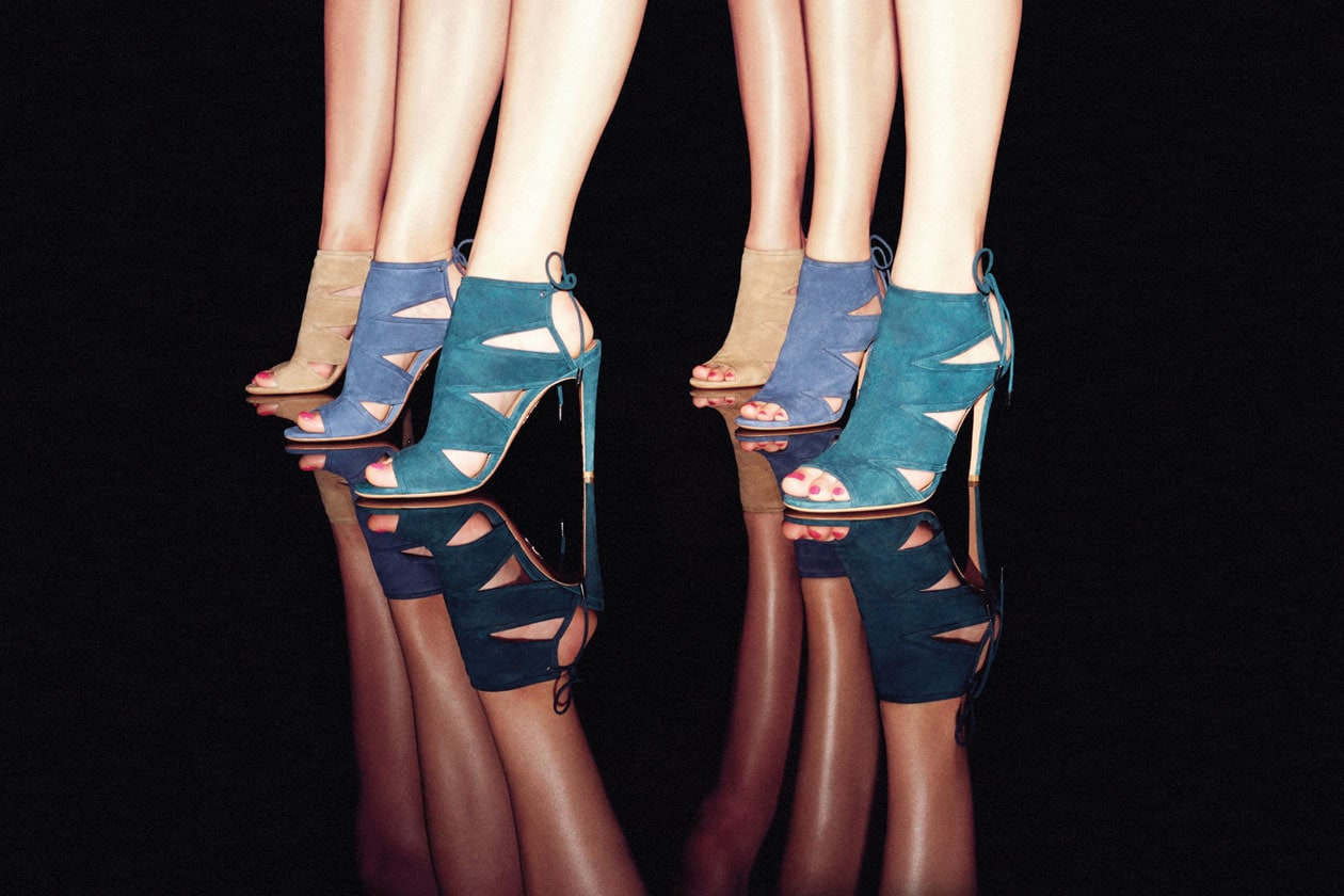 Aquazzura exclusively for shoescribe 1.com ph.Marco Pietracupa
