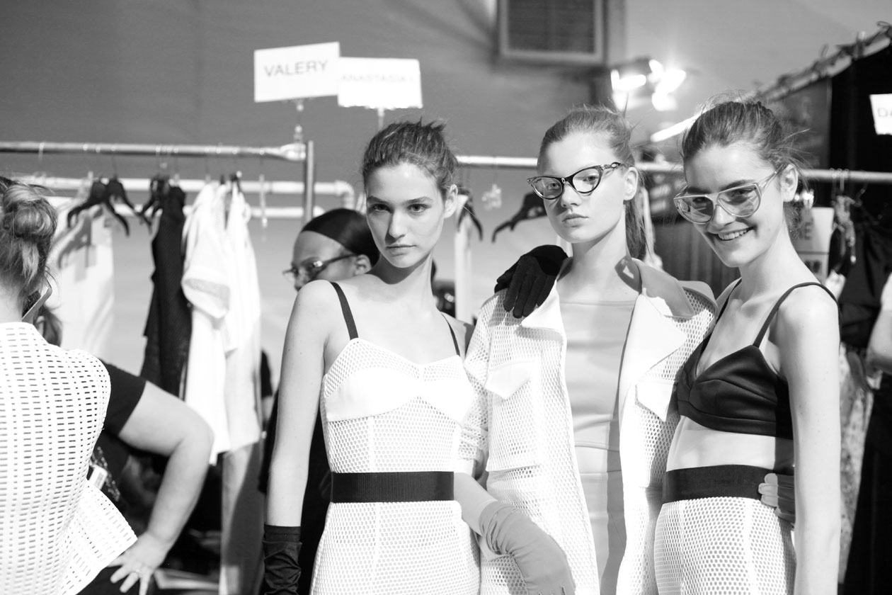 Models Backstage Milly ss14