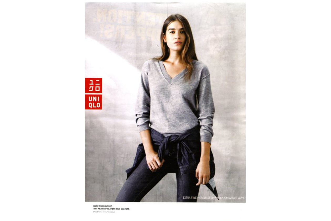 campagna Uniqlo Campiagn by Paul Wetherell