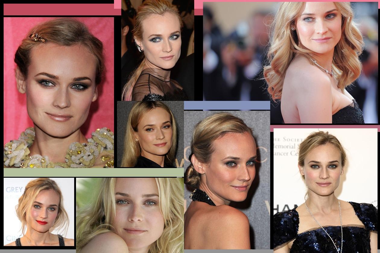 Testimonial di Chanel, Diane Kruger ha una bellezza naturale ed eleganze e una grazia fuori dal comune. I migliori beauty look secondo Grazia.IT