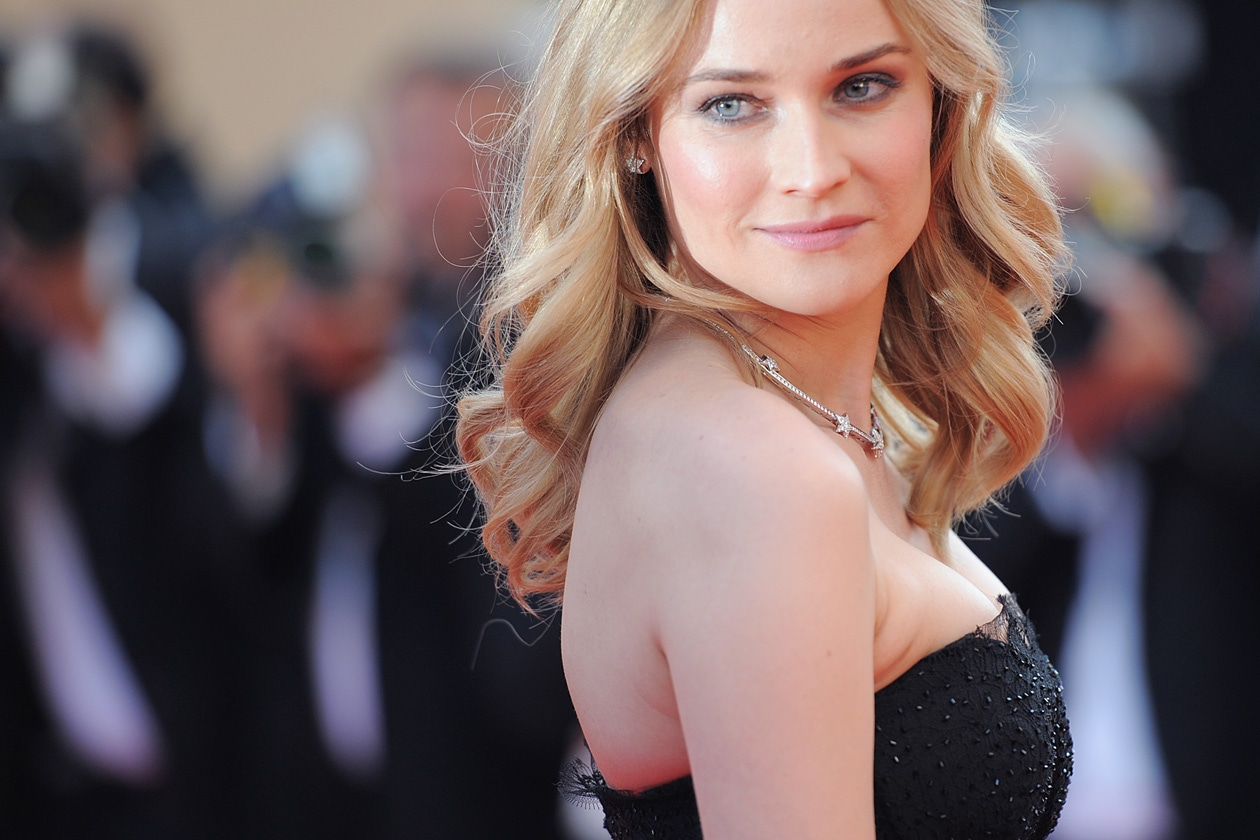Diane Kruger punta molto sull'effetto flawless skin (2010)