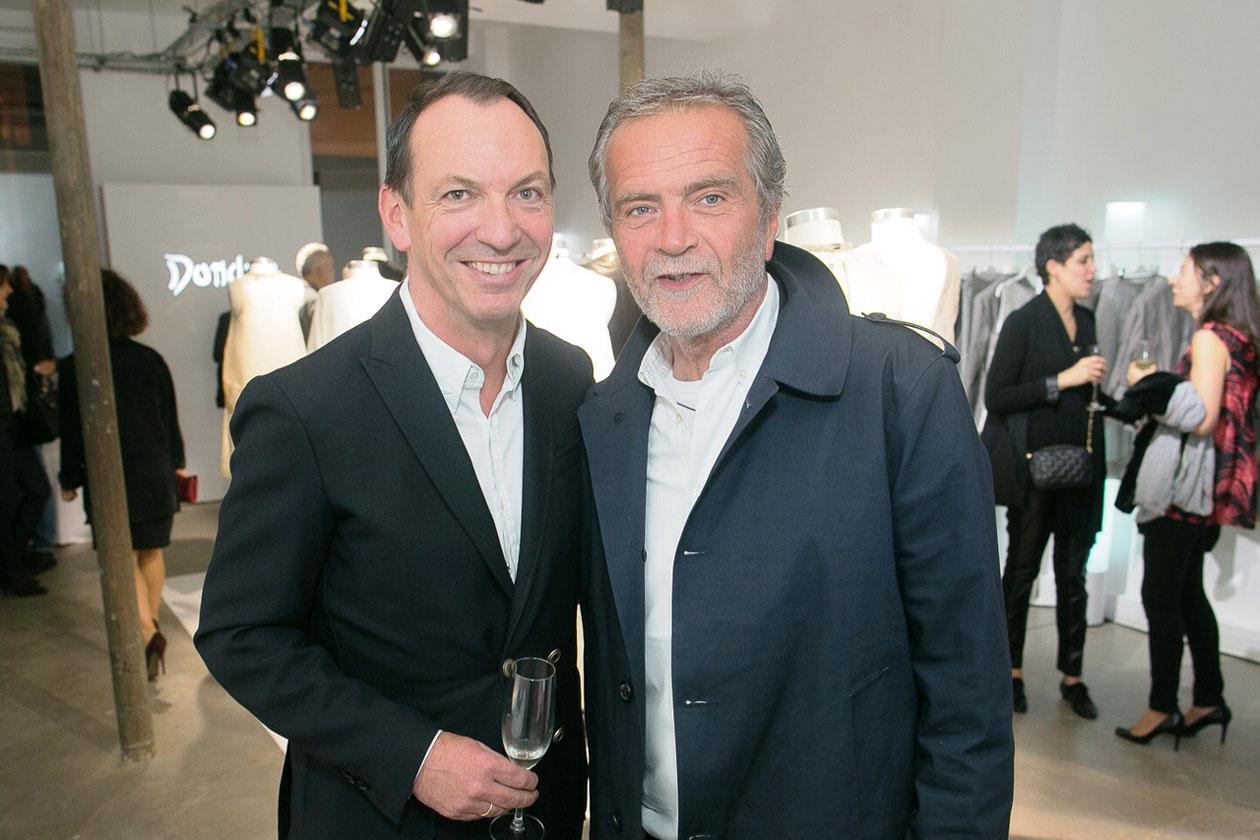 Peter Kappler Massimo Berloni (CEO Dondup)