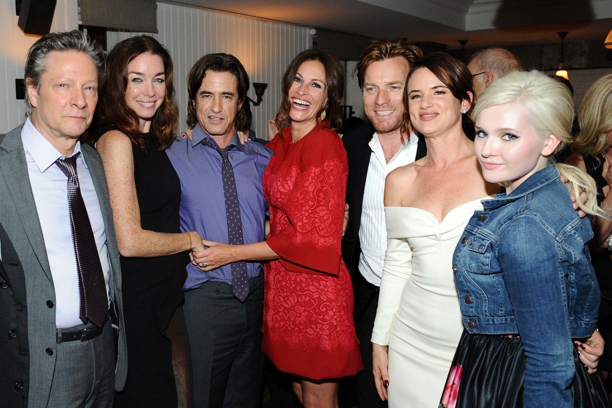 20 Chris Cooper, Julianne Nicholson, Dermot Mulroney, Julia Roberts, Ewan McGregor, Juliette Lewis, Abigail Breslin