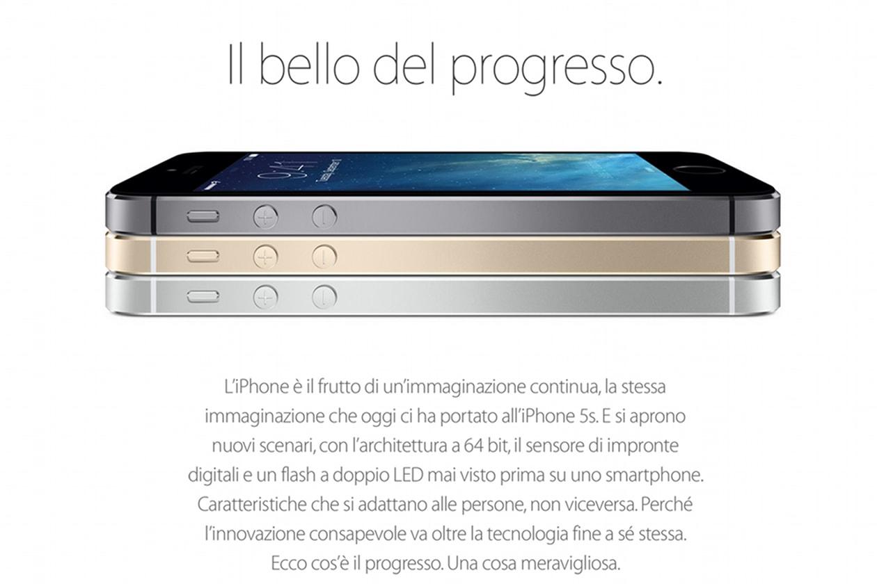 iPhone 5S   I modelli