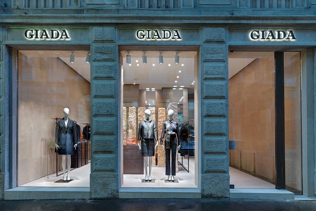 Giada: flagship store a Milano