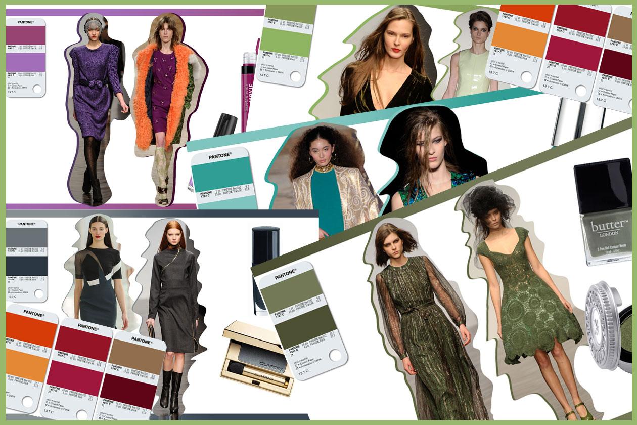 Make up: tutti i colori di tendenza Pantone A/I 2013 e i prodotti beauty indispensabili