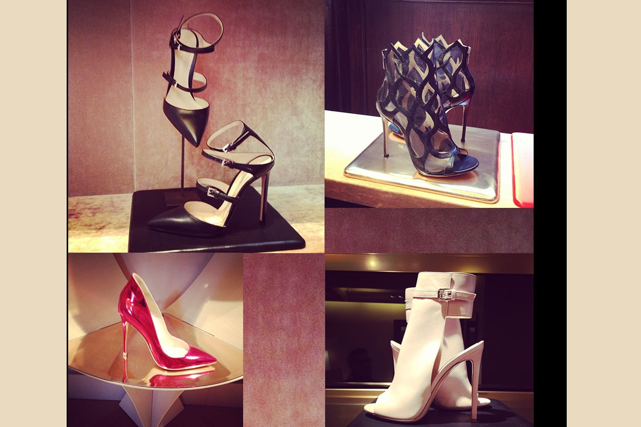 Fashion Presentazioni Accessori Gianvito Rossi