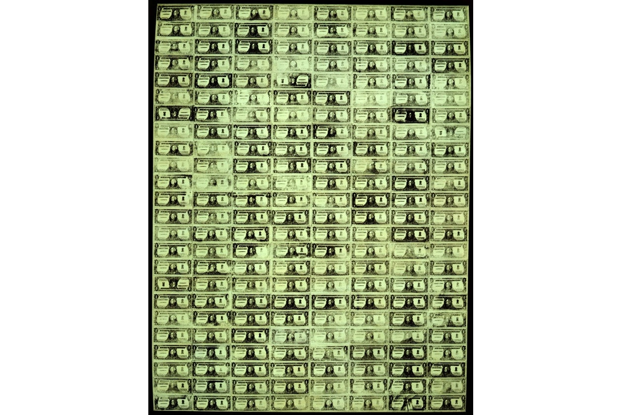 Andy; Warhol; filosofia; citazioni; frasi celebri; aforismi; Palazzo Reale; Milano; Palazzo Blu; Pisa; Mostra andy warhol; dollar