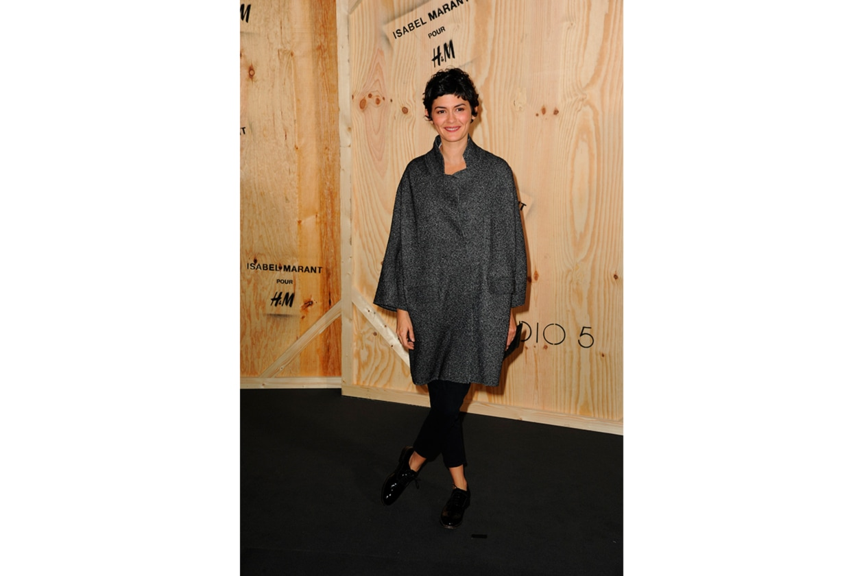 Audrey Tataou at the party Isabel Marant pour H&M
