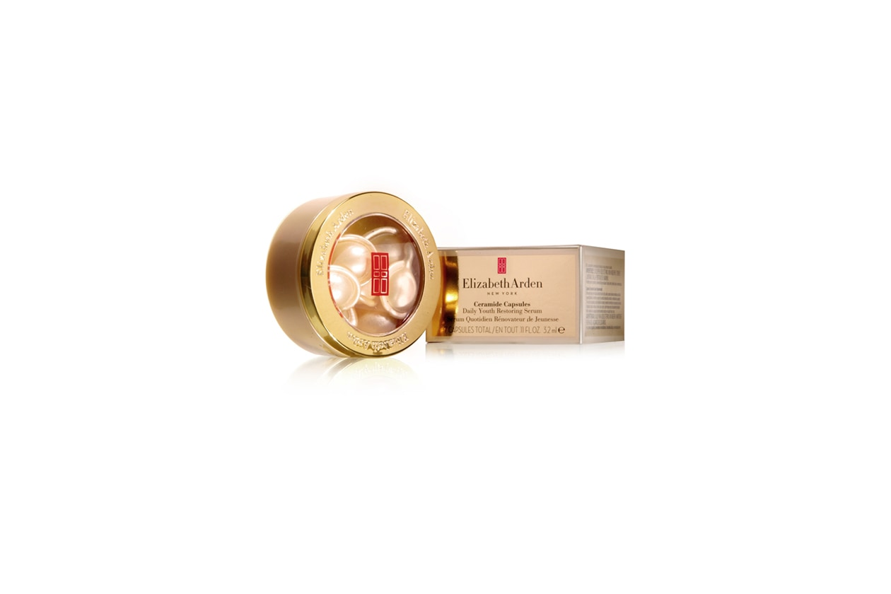 Beauty Anti freddo Elizabeth Arden ceramide capsules daily youth restoring serum+box