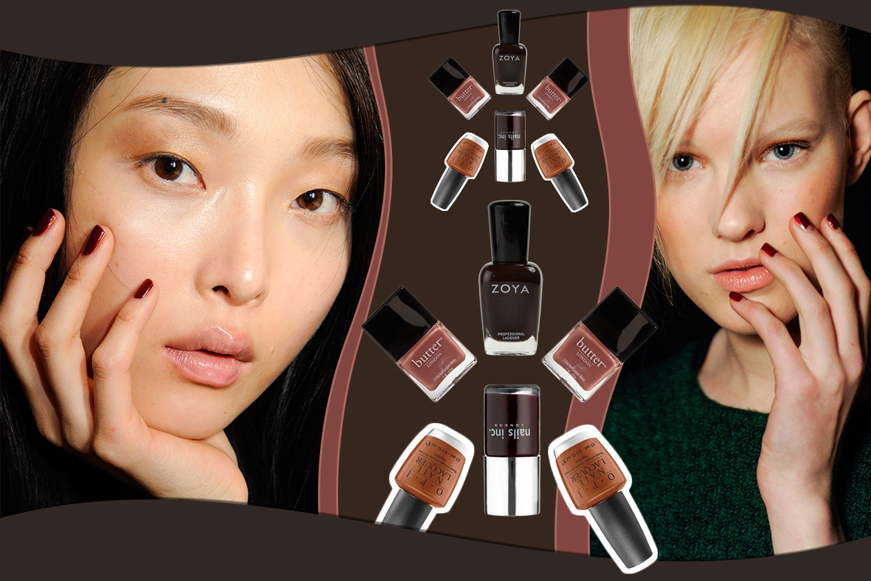 Beauty Chocolate Manicure Cover collage