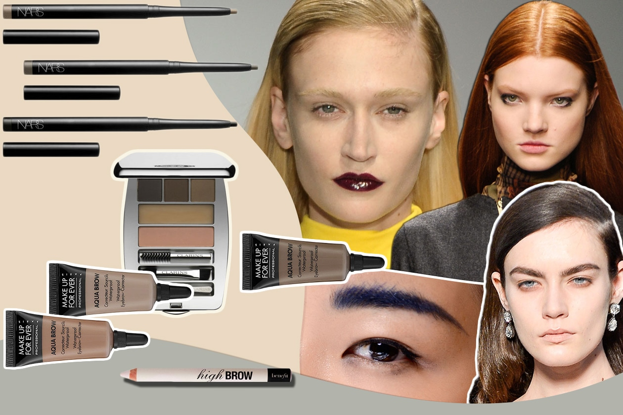 Beauty eyebrows time Cover collage