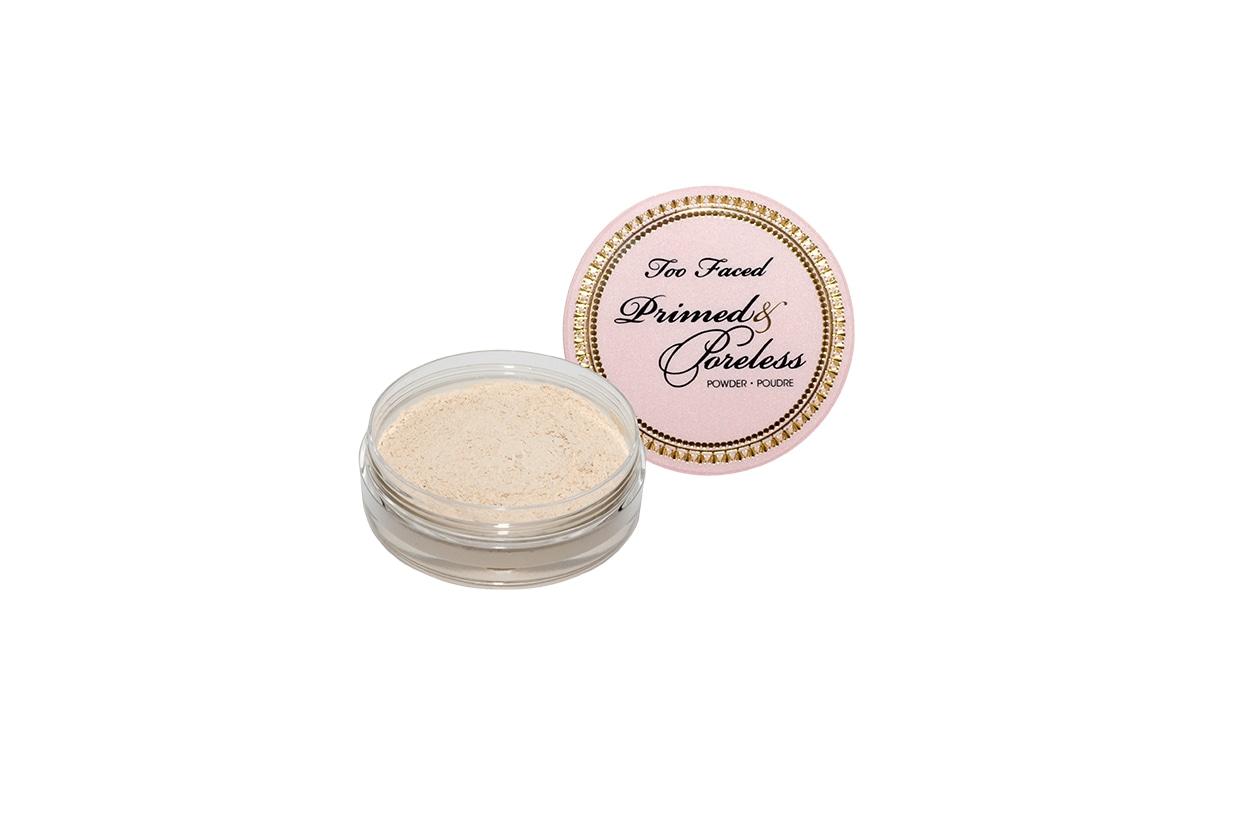 Beauty pore minimizer Primed & Poreless Powder Too Faced