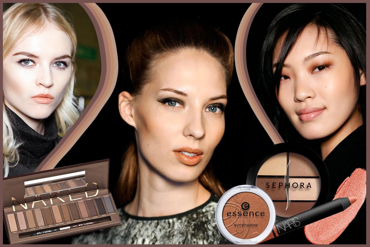 Make up caramello: tutte le sfumature per occhi e labbra