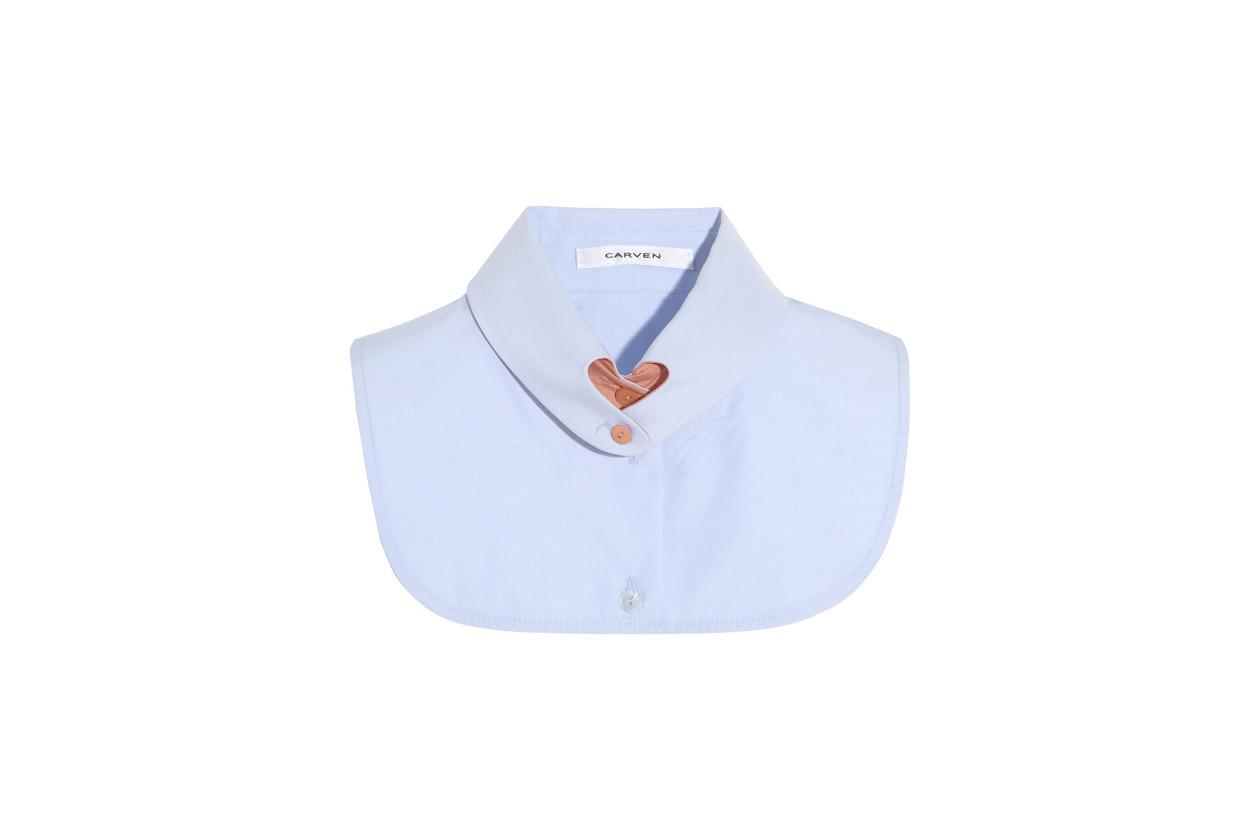 Carven collar