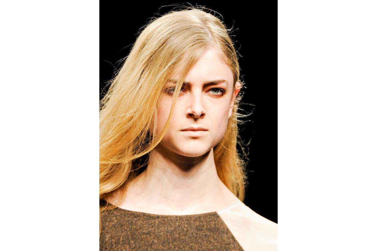 Chioma al naturale per la modella di Miguel Alex