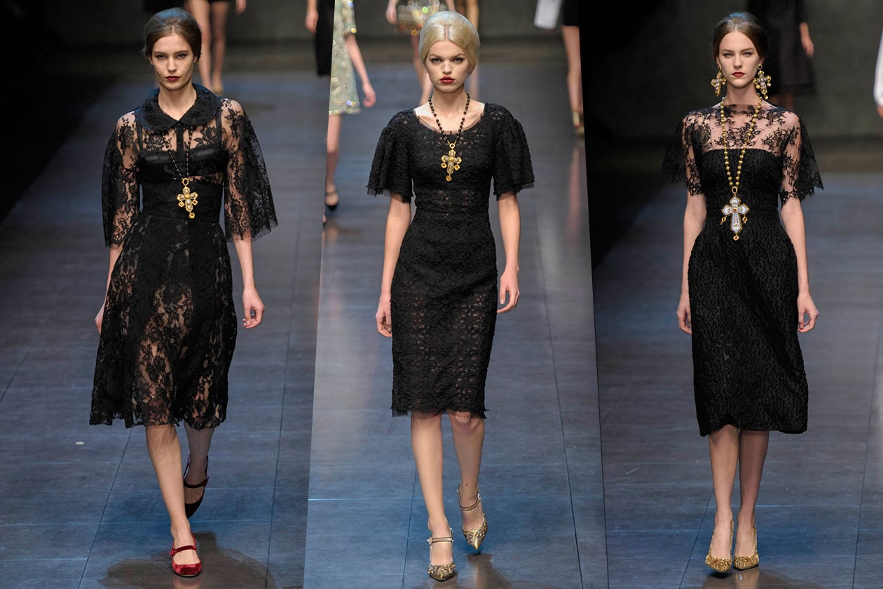 Fashion Total black list DolceGabbana