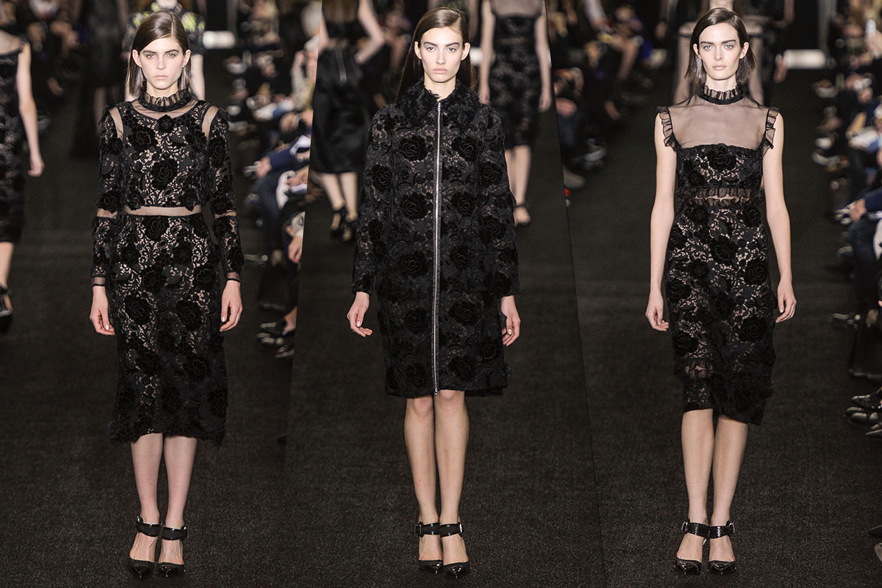 Fashion Total black list Erdem