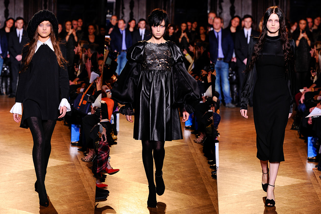 Fashion Total black list Giles