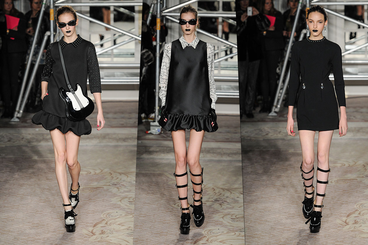 Fashion Total black list Moschino