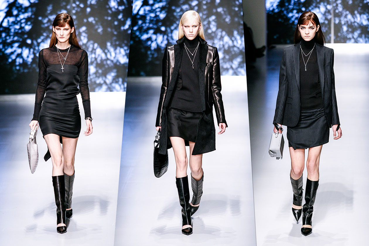 Fashion Total black list SFerragamo