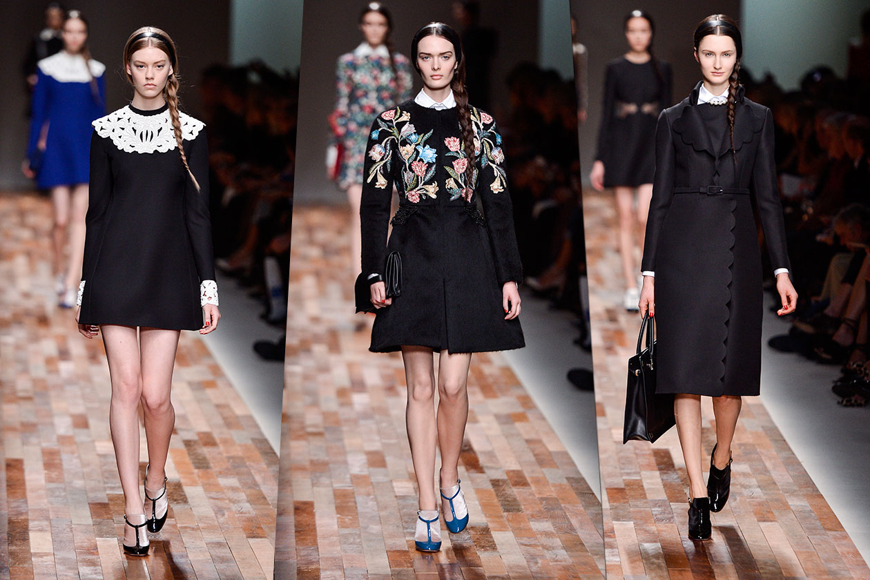 Fashion Total black list Valentino