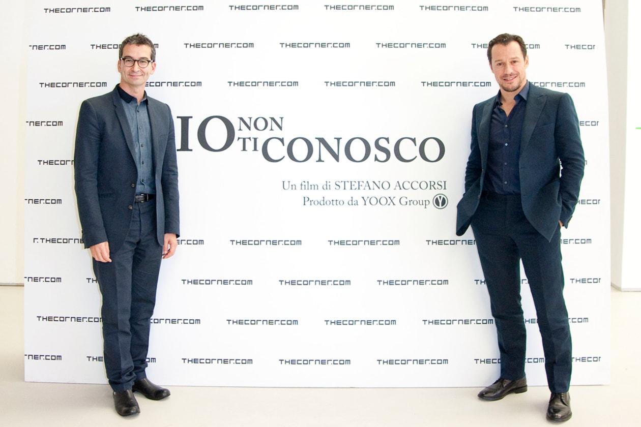 Federico Marchetti e Stefano Accorsi Io non ti conosco Cocktail 17 Ottobre Roma