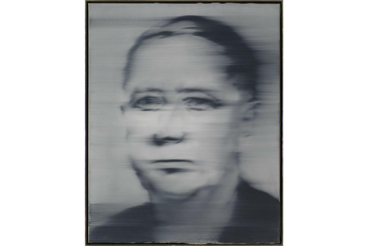 Gerard richter; Jean-Luc Nancy; Gerard Richter; Helmut Klinker; ritratto contemporaneo; mart; rovereto; mostra; l'altro ritratto