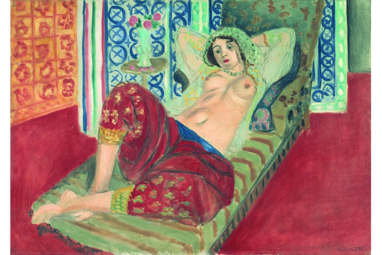 Henri matisse; odalisca in rosso; palazzo reale; centre pompidou; il volto del novecento; ritratti; donne