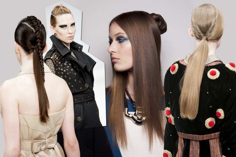 I TREND A/I 2013 DI TONI & GUY: dettagli retro, un mix di Oriente e Occidente dalle passerelle della London Fashion Week