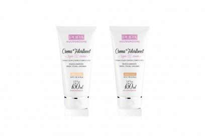 Ideale per chi ha poco tempo la Crema Fotoritocco Super CC Cream di Pupa per viso e corpo