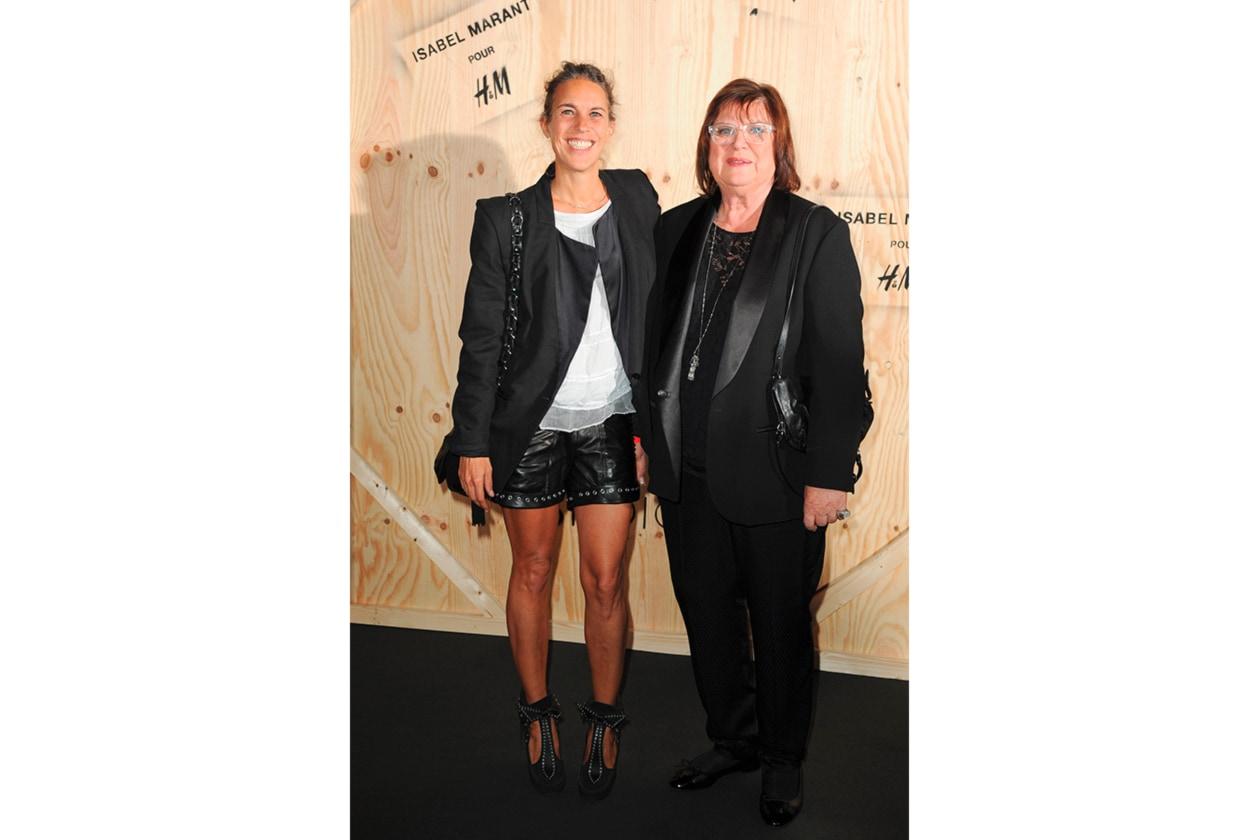 Isabel Marant e Margareta Van den Bosh