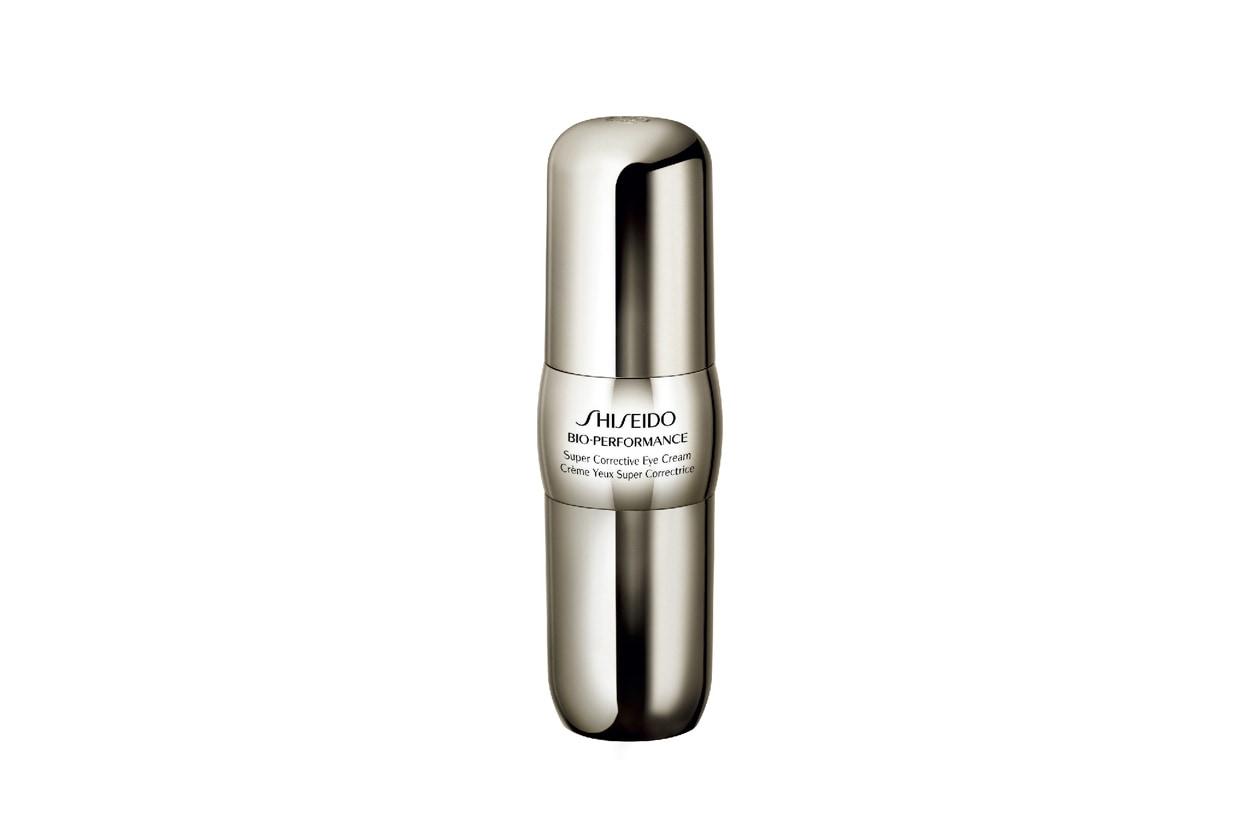 La Bio-Performance Super Corrective Eye Cream di Shiseido promuove la naturale produzione di Acido ialuronico nei 3 strati della pelle
