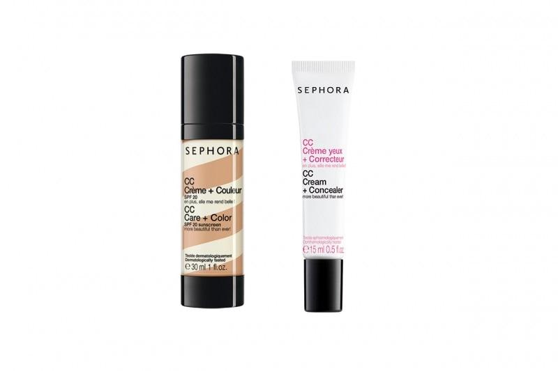 La CC Eye Crem + Concealer di Sephora regala uno sgardo più riposato, fresco a luminoso. Da usare con la CC Care + Color