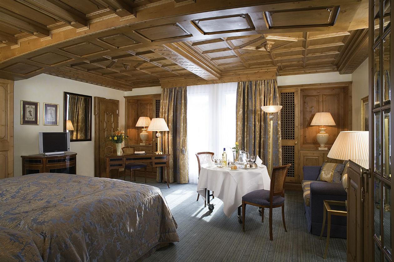 La Junior Suite del Kulm Hotel St.Moritz
